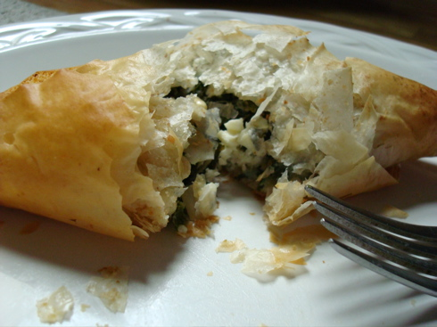 Spanakopita: Spinach, Feta, & Phyllo | Apartment Dining