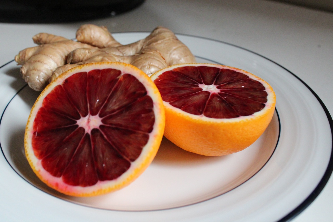 too many blood orange glamor shots. For example, here are some oranges ...
