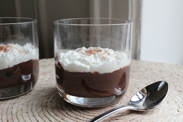 ultra chocolate pudding side